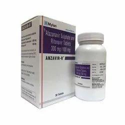 Anzavir-r Atazanavir 300mg Ritonavir 100mg Tablet