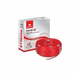 Havells FR PVC Insulated Industrial Cable, 1100 V, Size: 4sqmm