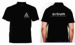 Black Corporate T Shirt
