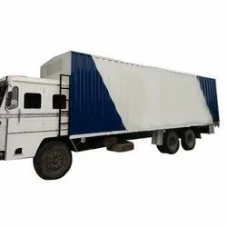 Mild Steel 35 Feet PUF Container Truck, For Transportation And Storage