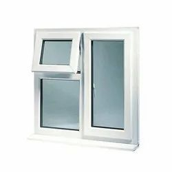 Polished Aluminium Combination Window, For Home