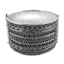 Big Royal Handmade 925 Sterling Silver Bangle