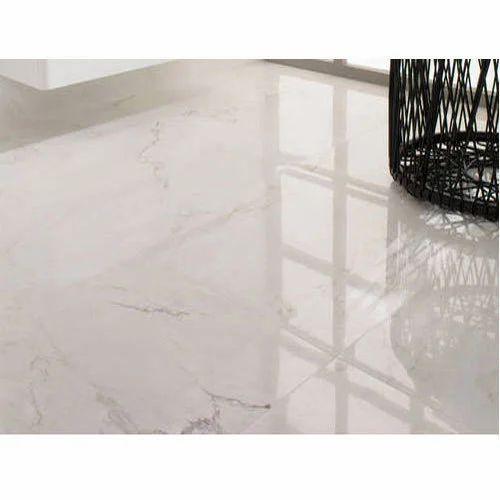 Ceramic Floor White Tile Thickness 6