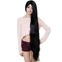 100% Natural Black Long Soft & Silky Synthetic Wig Wts Apps 8287652304