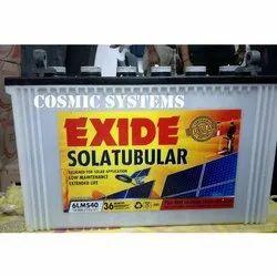 12 V Exide 6LMS40 Solatubular Battery