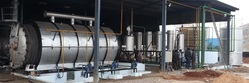 Fully Automatic Waste Tyre Pyrolysis Plant (10 Tons)