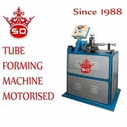 Gold Tool Motorized Tube Forming Machine