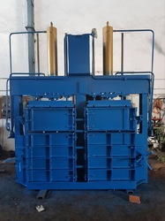 Double Chamber Double Cylinder Baling Machine