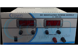 DC Regulated Power Supply 0-30V/0-2A