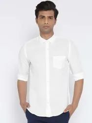 Cotton White Full Sleeves Formal Shirt