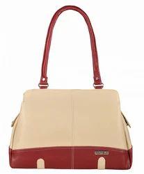 P.U Fostelo Women's Aurielle Handbag (Cream) (FSB-749)