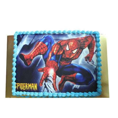 Spiderman Birthday Cake At Rs 950 Kilogram Birthday Cake क क