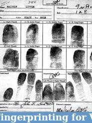 Finger Printing For Visa