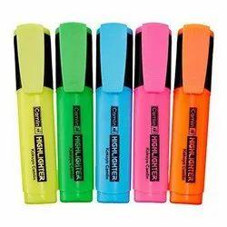 Chisel Tip Plastic Camlin Highlighter Marker