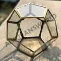 Designer Wedding Centerpiece Decor Geometric Terrarium