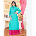 Ladies Cotton Party Wear Dresses