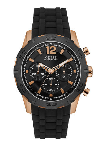 0afd4d97ab338 Guess Round Analog Black Dial Mens Watch at Rs 13735  number