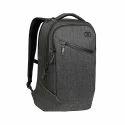 Nylon Grey Laptop Backpack