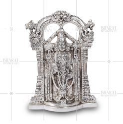 Silver Plated Tirupati Balaji Statue