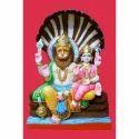 Marble Narsimha Lakshmi Statue, For Worship, Size: 3-5 Feet