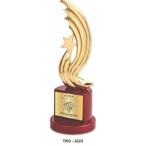 Aluminium Designer Award Trophy