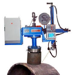 Four Axis NC Saddle Welder