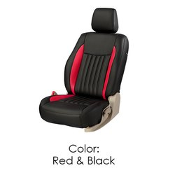 Red & Black Car Seat Cover