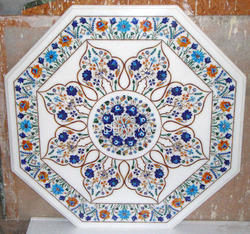 Marble Micro Mosaic Inlay Table Top