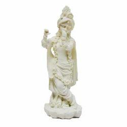 White Krishna Statue
