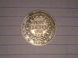 Cupro-nickel Silver Queen Elizabeth 2nd 50 Pence Coin, Rs