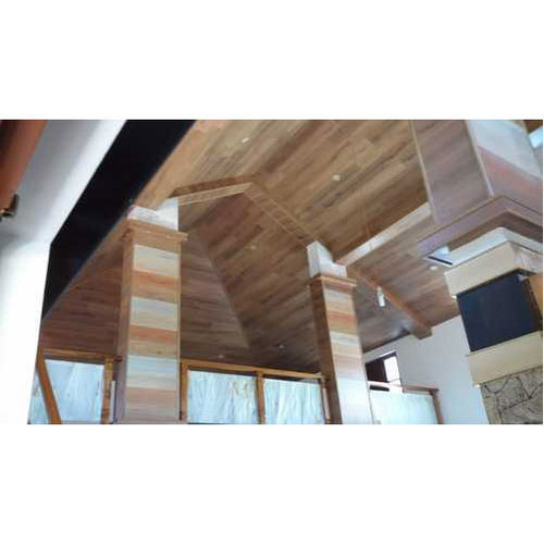 Plywood Fab Wood Laminated Wooden False Ceiling Rs 235