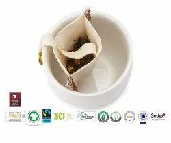 Gots Organic Cotton Tea Bag