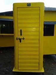Fibre Mobile Labour Toilet