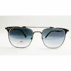 Aviator Sliver and Black Tag Hills Men Sunglasses