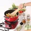 Nirlon Deep Casserole Cookware Cooking Biryani Pot With 3 Layer Nonstick Coating Cs26cm 4 Liter