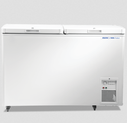 Classic White Electric Voltas Hard Top Deep Freezer, 100 L