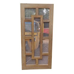 Decorative Pinewood Door
