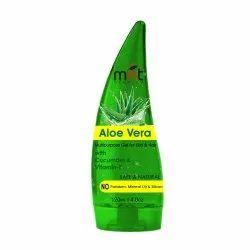 MNT Pure Aloe Vera Gel Moisturiser With Cucumber & Vitamin-E, Beauty Gel For Hair And Skin, 120ml