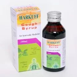 Plastic Harkuff Honey Base Herbal Cough Syrup, Bottle Size: 100 ml, Grade Standard: Medicine Grade