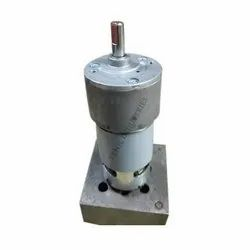 Floor Mounting 12v DC Gear Motor Popcorn Machine, Model Name/Number: Rs 50, 10 To 500 Rpm