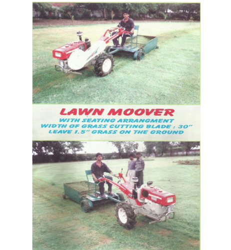 Mitsubishi Lawn Mower With Power Tiller, B D J