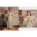 Fancy Long Georgette Gown
