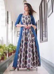 Designer Gown Style Long Kurtis