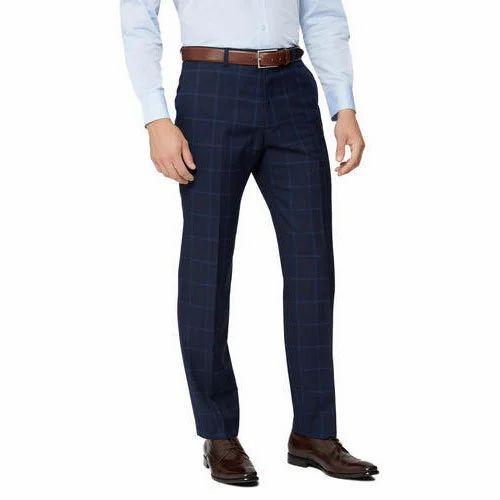 5d17b8da44d Mens Cotton Blue Pant