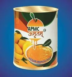Testy Kesar Mango Pulp, Packaging: 850 Gram