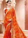 Women Bandhani Saree