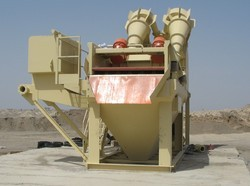 Hydrocyclone Type Sand Washer