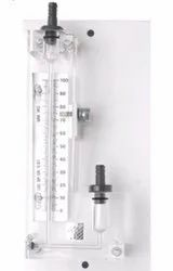 Acrylic Body Single Limb Manometer