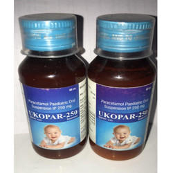 Paracetamol Paediatric Oral Suspension, 60 mL, Packaging Type: Pet Bottle