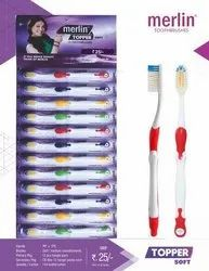 Soft Merlin Topper Toothbrush, For Cleaning Teeth